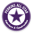 Perkins All-Star Exteriors and Construction Logo