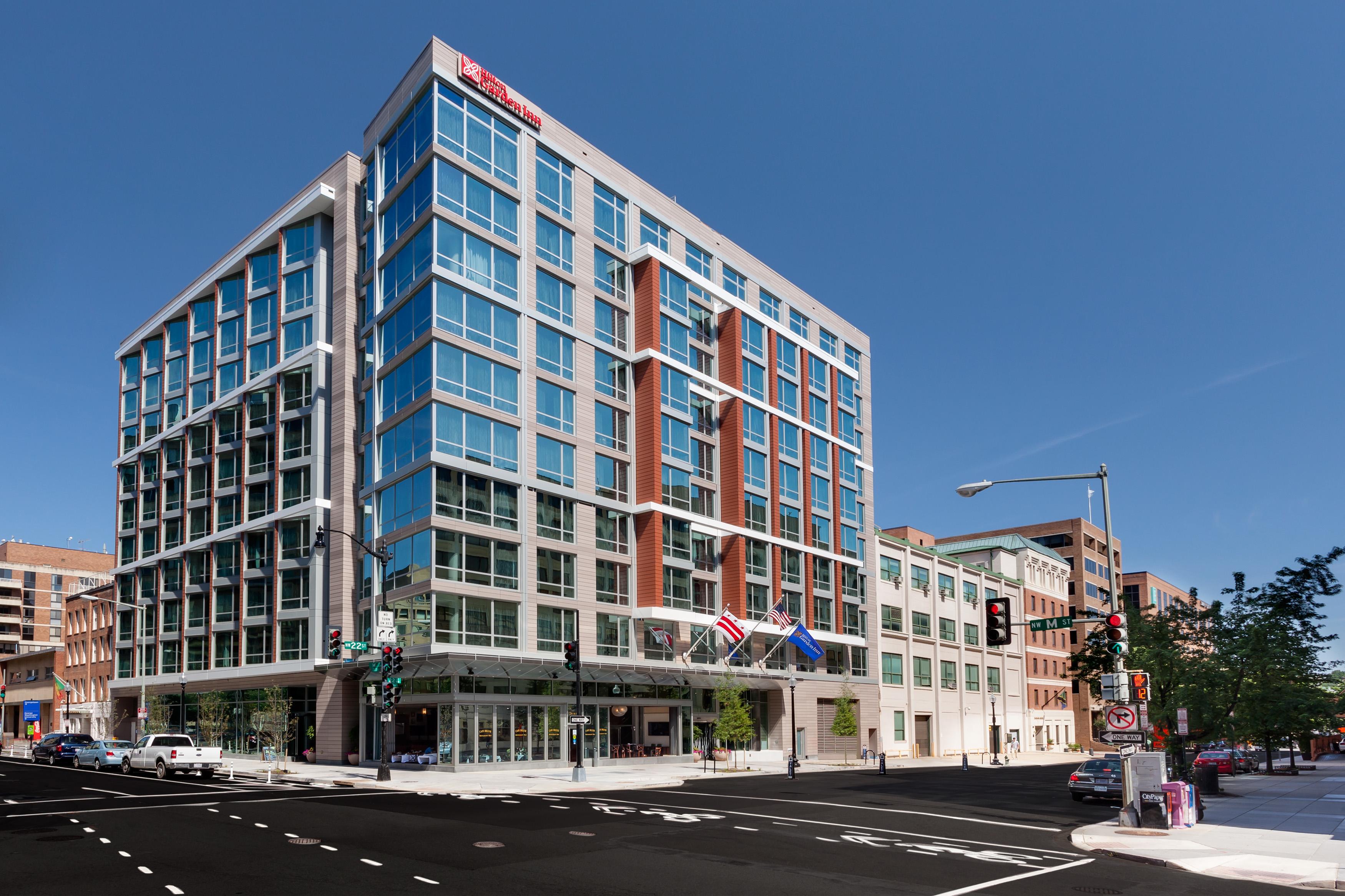 Hilton Garden Inn Washington Dc Georgetown Area At 2201 M Street Nw Washington Dc On Fave
