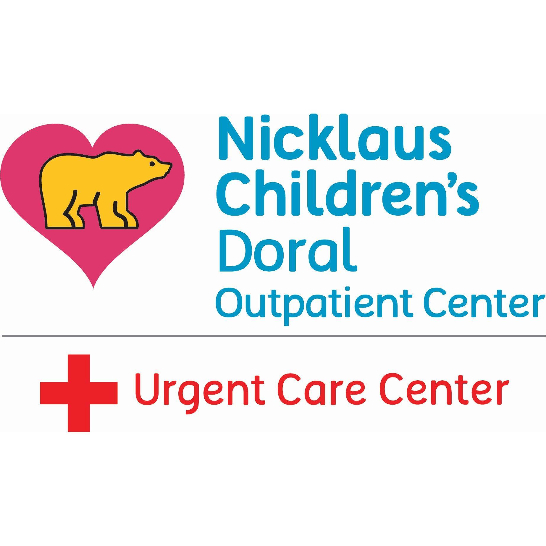 Nicklaus Children's Doral Urgent Care Center