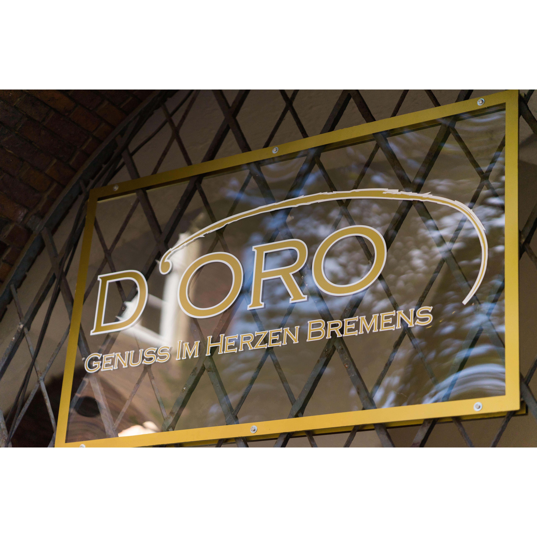 Logo von D'Oro - Genuss im Herzen Bremens