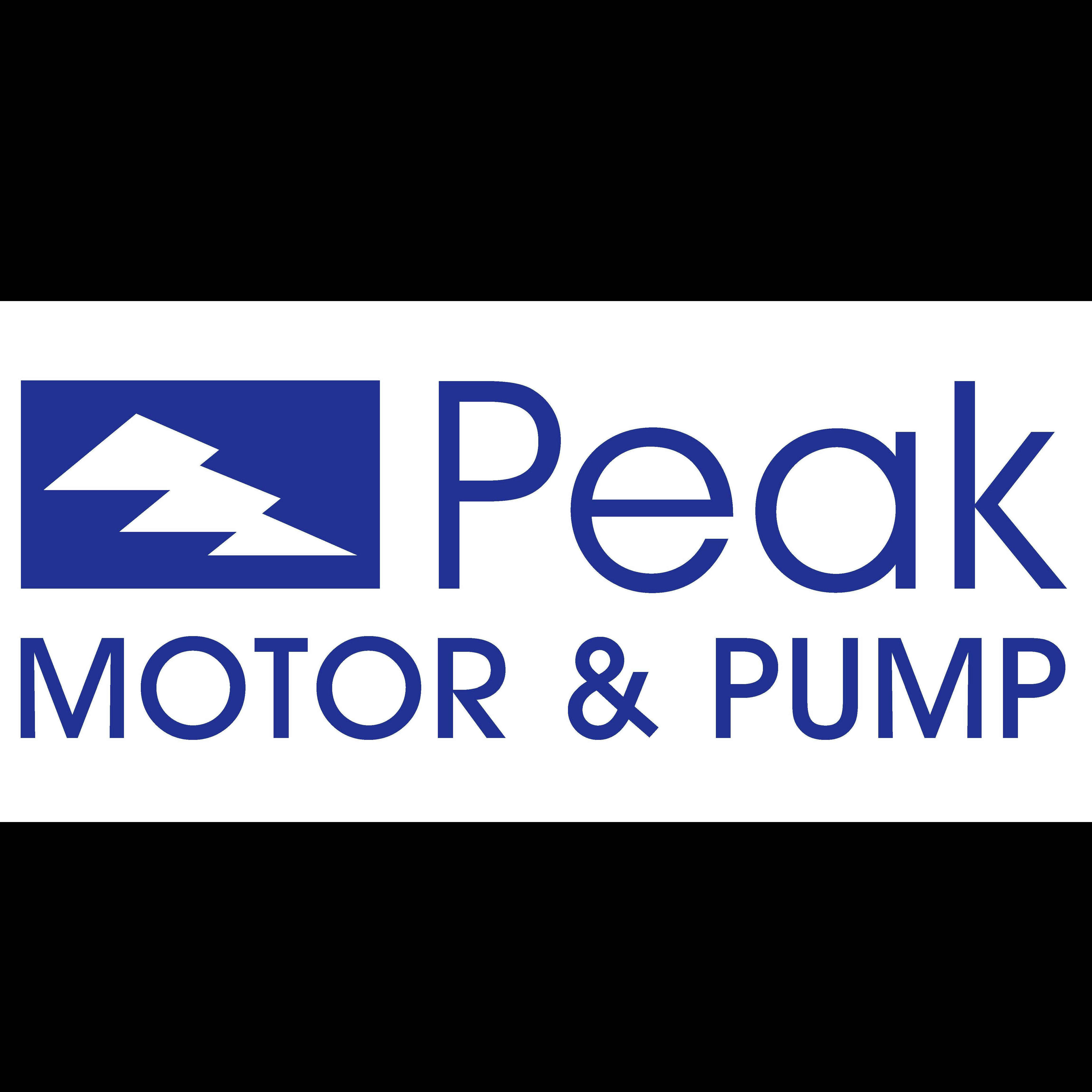 Peak Motor and Pump