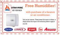 Free humidifier coupon