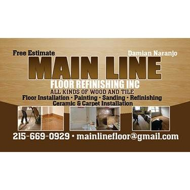 Main Line Floor Refinishing Inc.