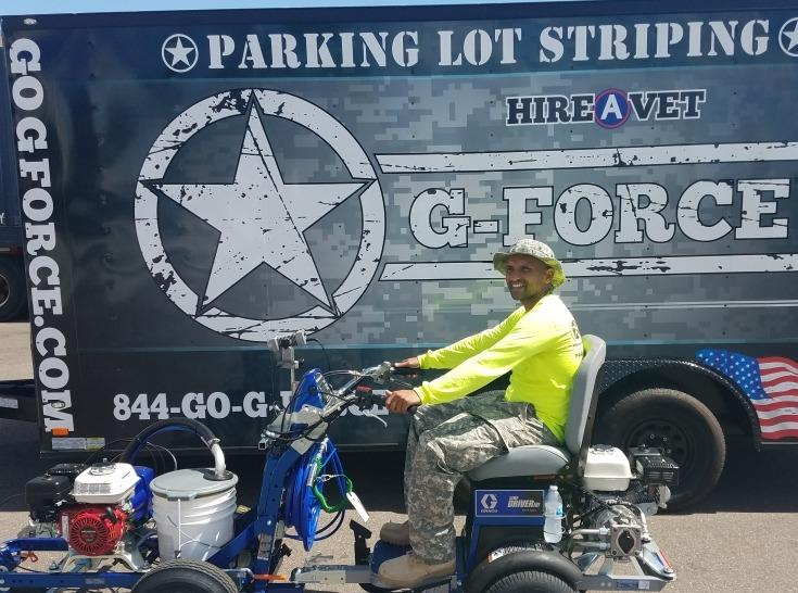G-FORCE™ Line Striping of Tampa image 1