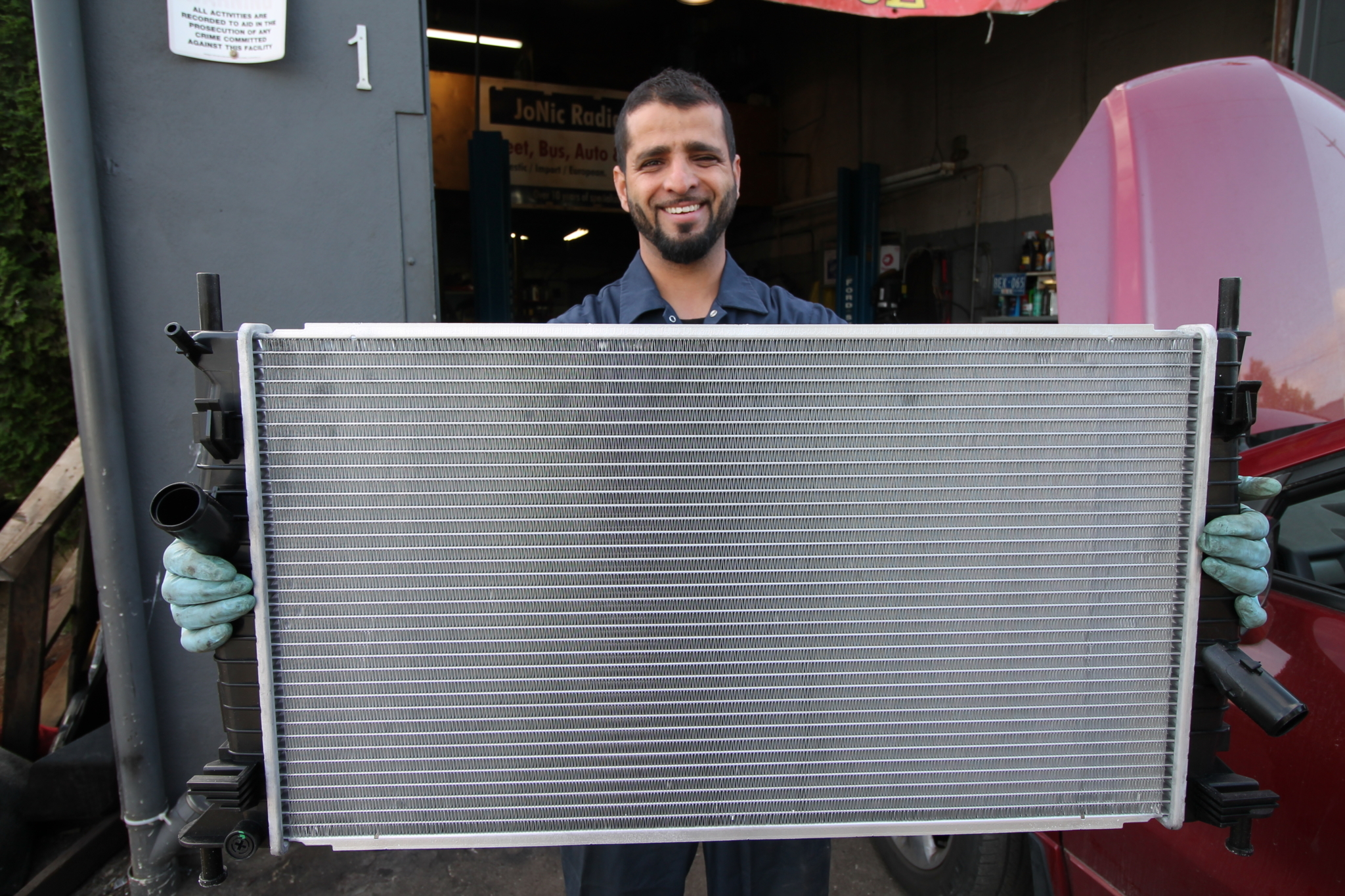 JoNic Radiators in Burnaby: no radiator too large or too small we fix them all