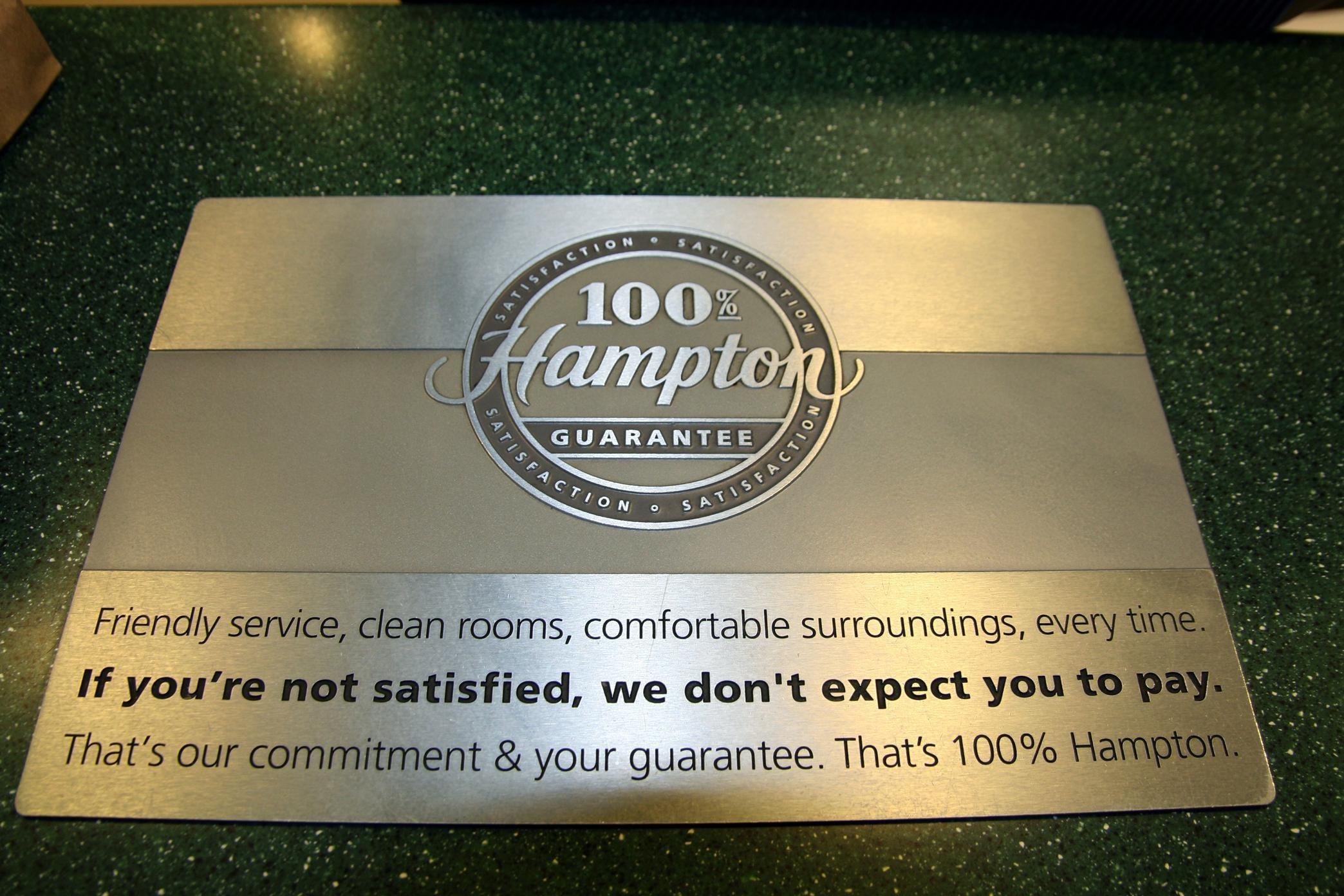 100% Hampton