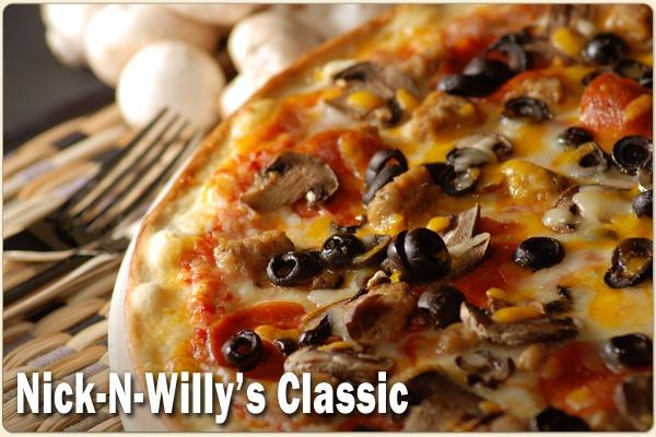 Nick-N-Willy's Classic Pizza