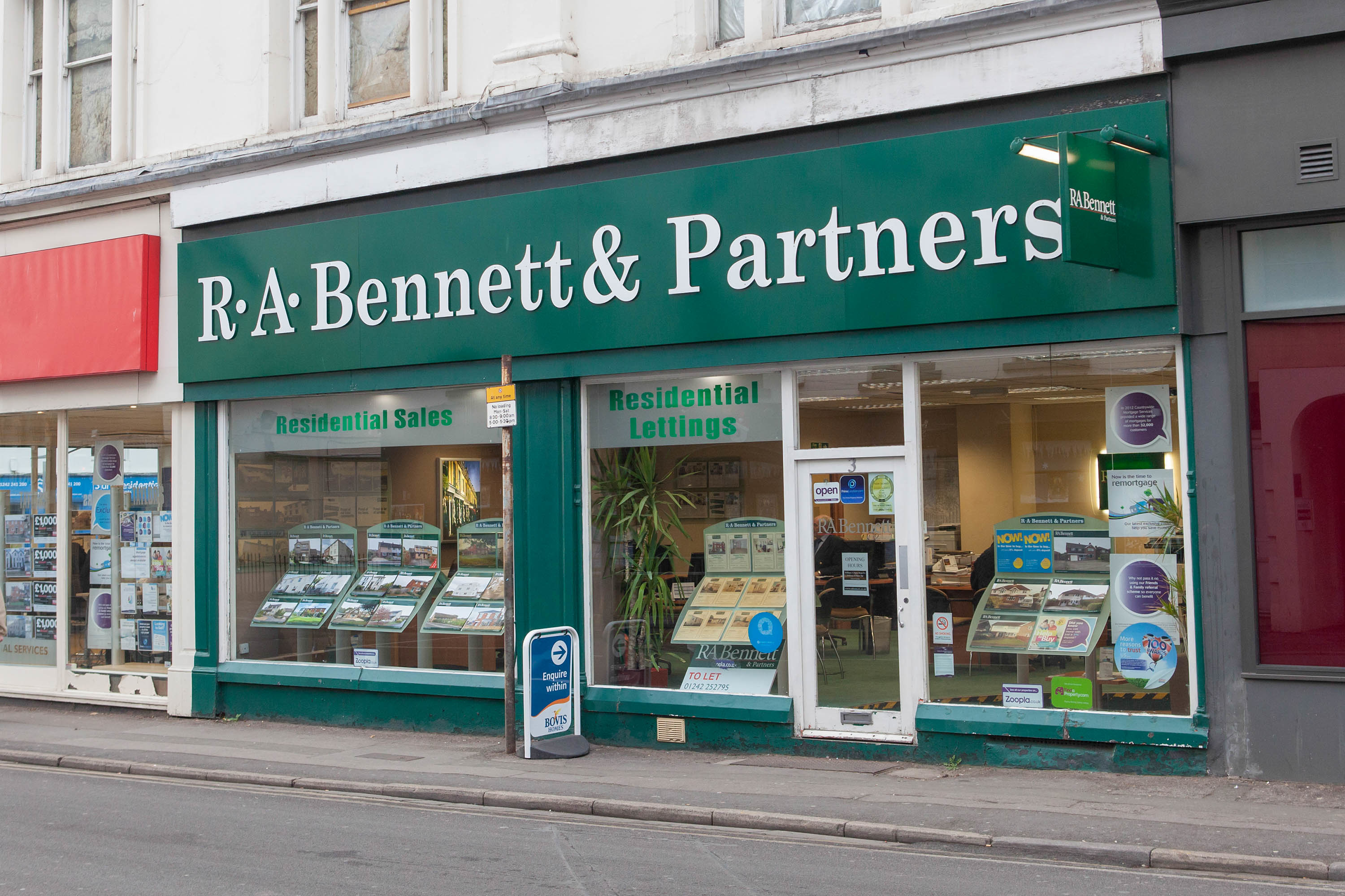 R. A. Bennett & Partners Estate Agents Cheltenham