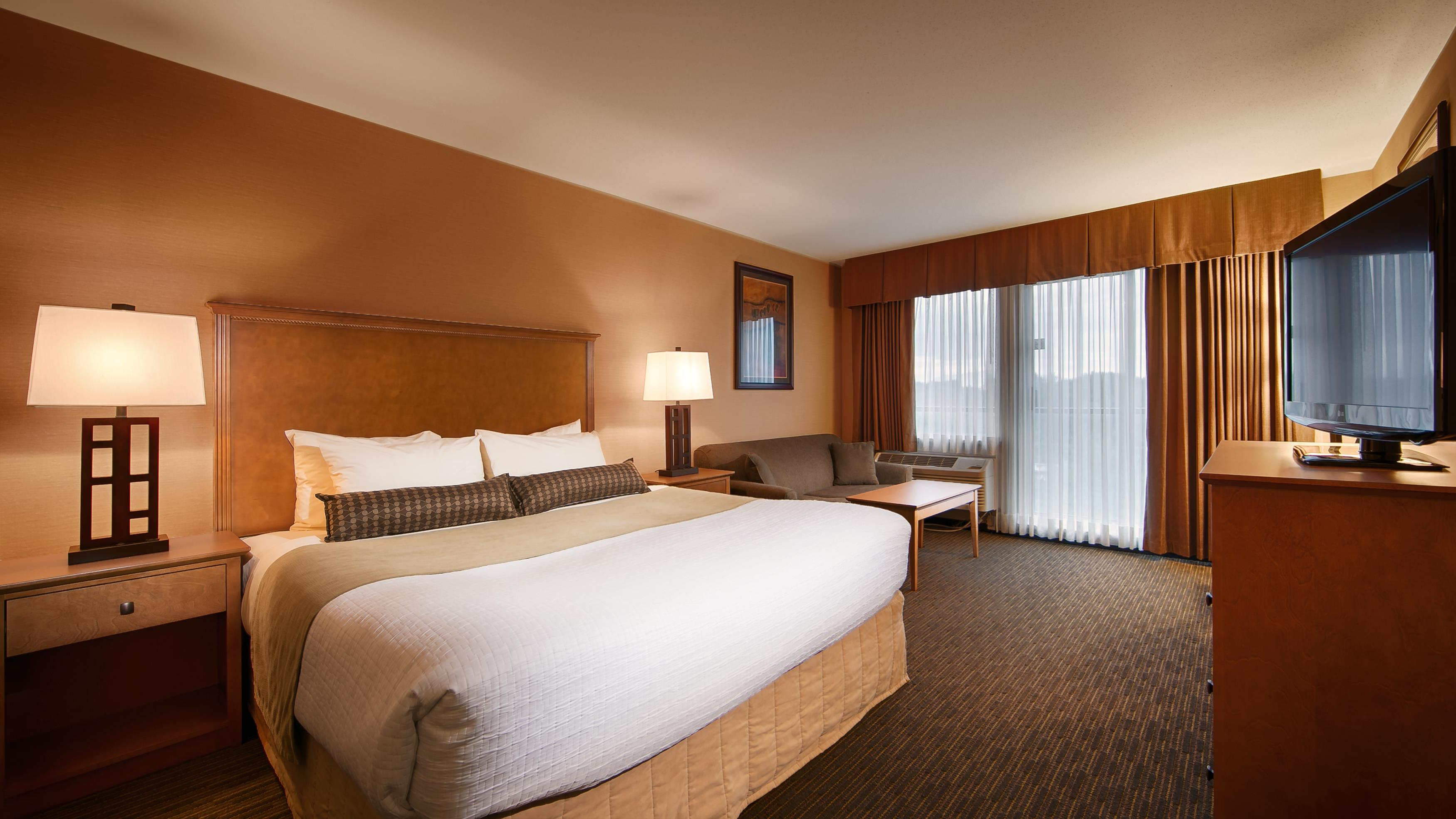 Best Western Plus Mission City Lodge in Mission: King Guest Room