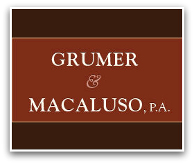 Grumer & Macaluso, P.A. - ad image