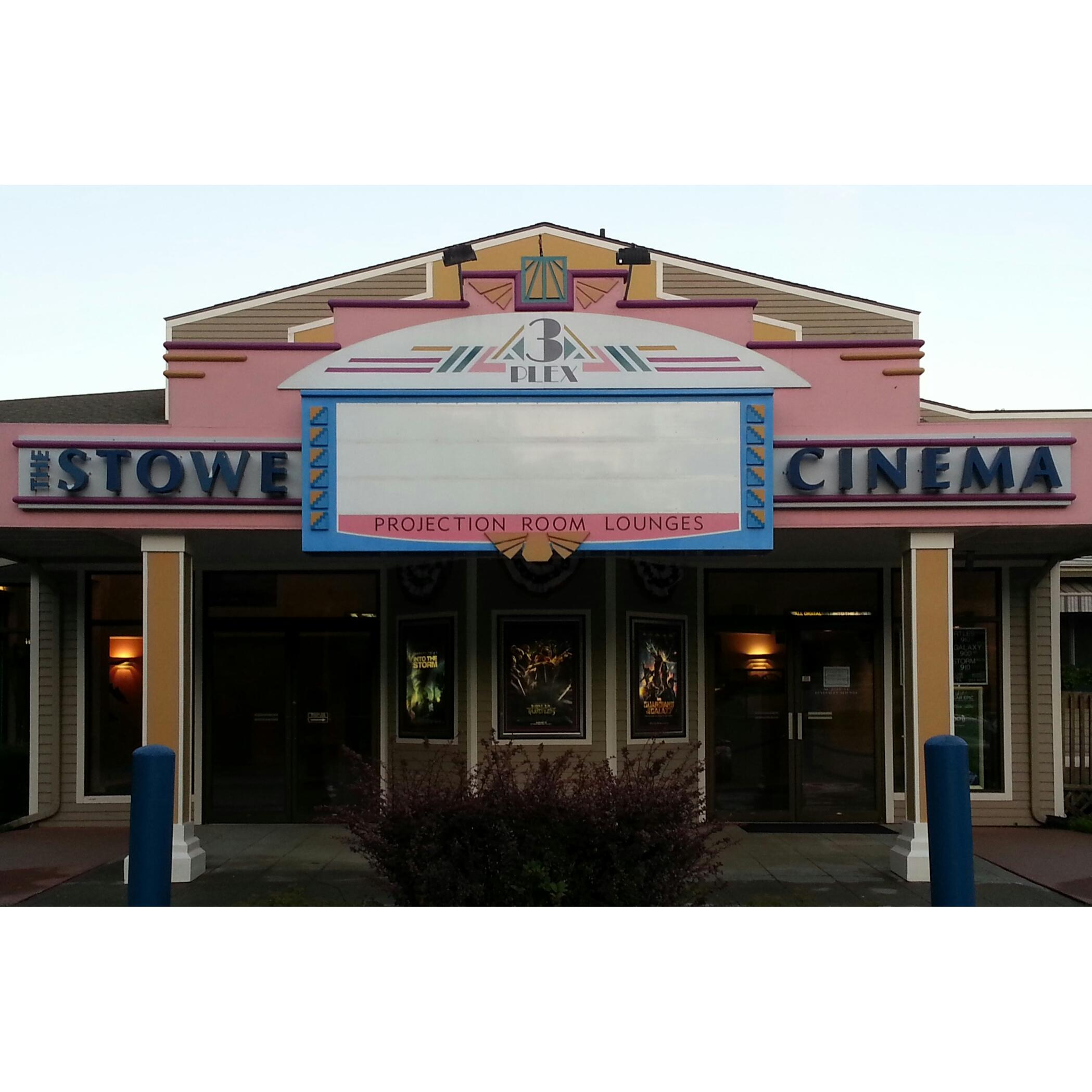 Stowe Cinema 3 plex & Projection Room Lounge