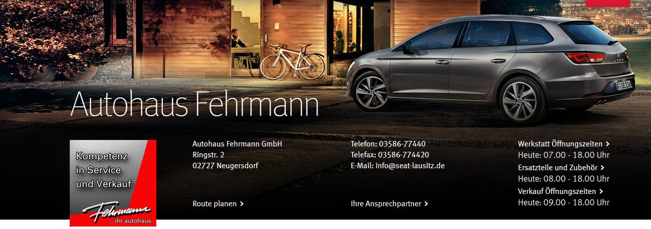 autohaus fehrmann gmbh gebrauchtwagen neugersdorf infobel deutschland telefon 0358677. Black Bedroom Furniture Sets. Home Design Ideas
