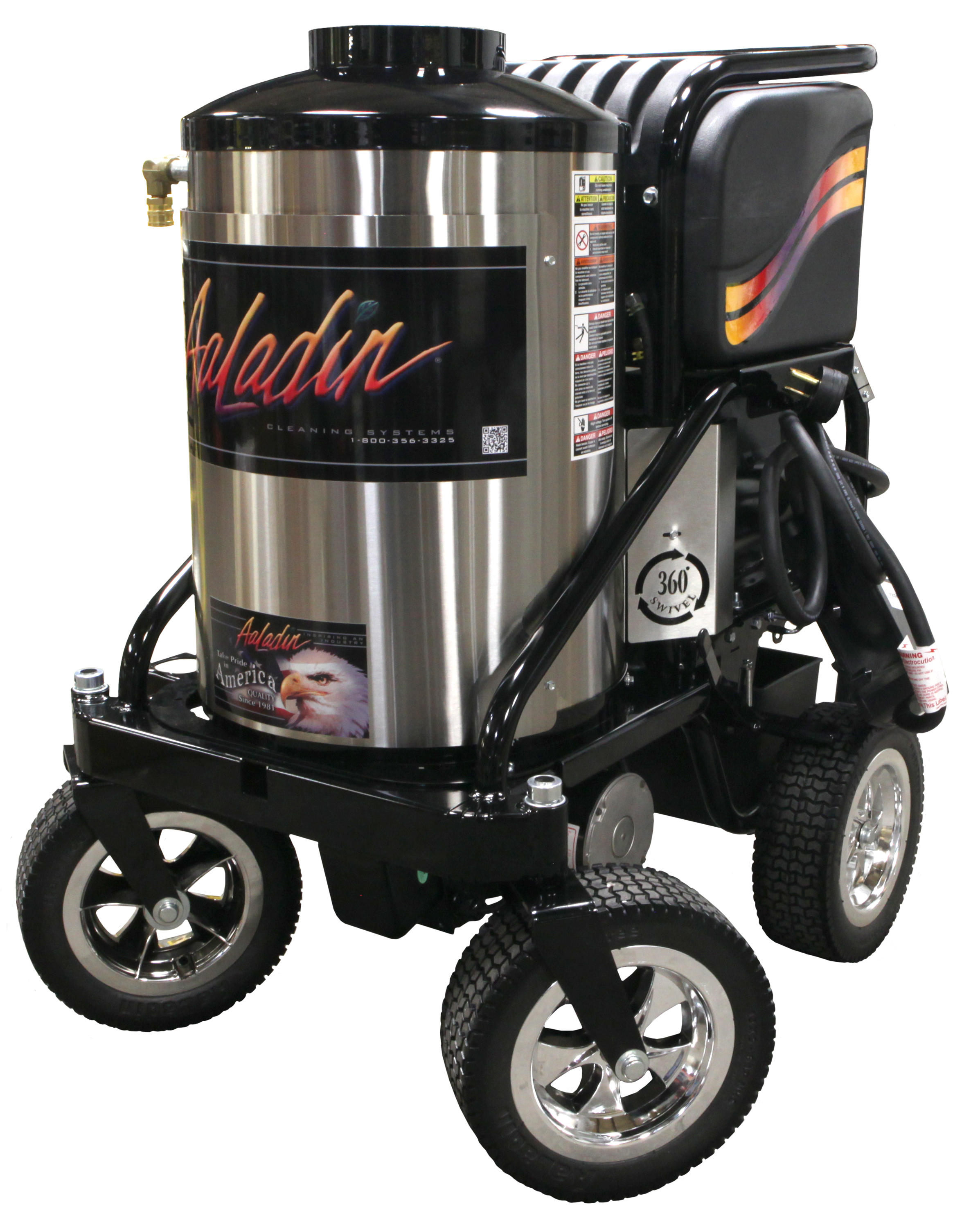 Aaladin Central Total Pressure Washer Supply image 6