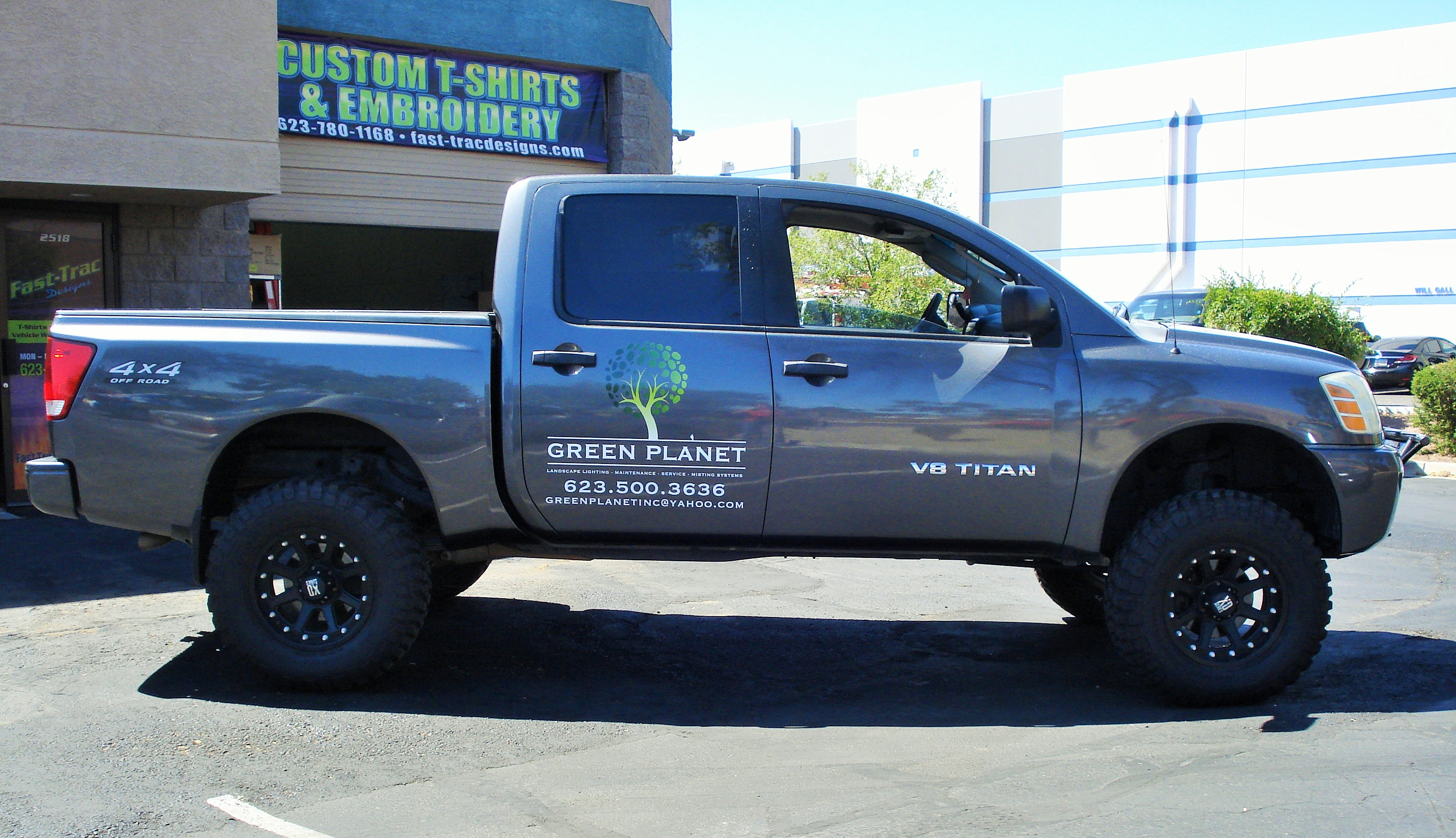 Fast Trac Designs Vehicle Wraps Amp Screen Printing