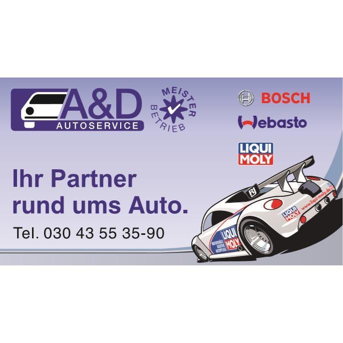Logo von A&D Autoservice Hermsdorf GmbH & Co.KG