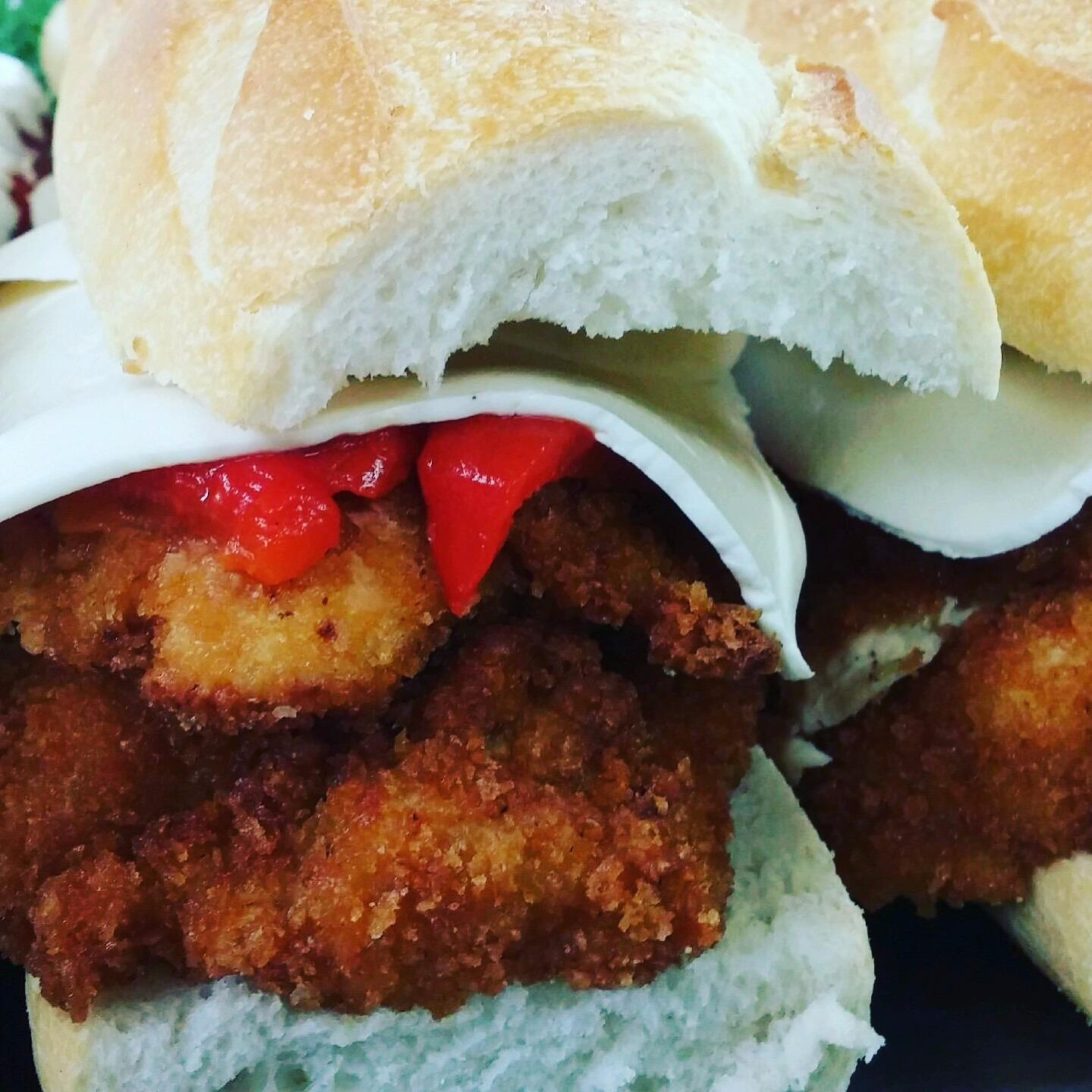 Crispy Chicken Cutlet Hero.  Great for any occassion