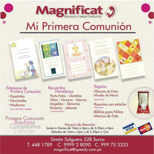 Magnificat Regalos y Libros Católicos