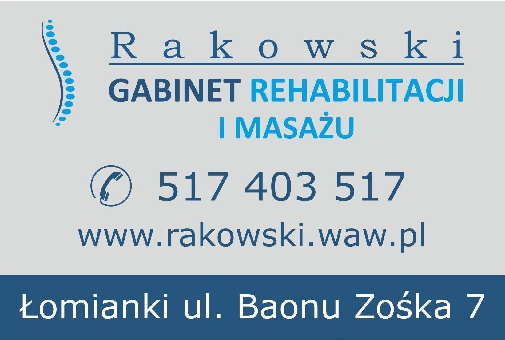 Rehabilitacja Rakowski