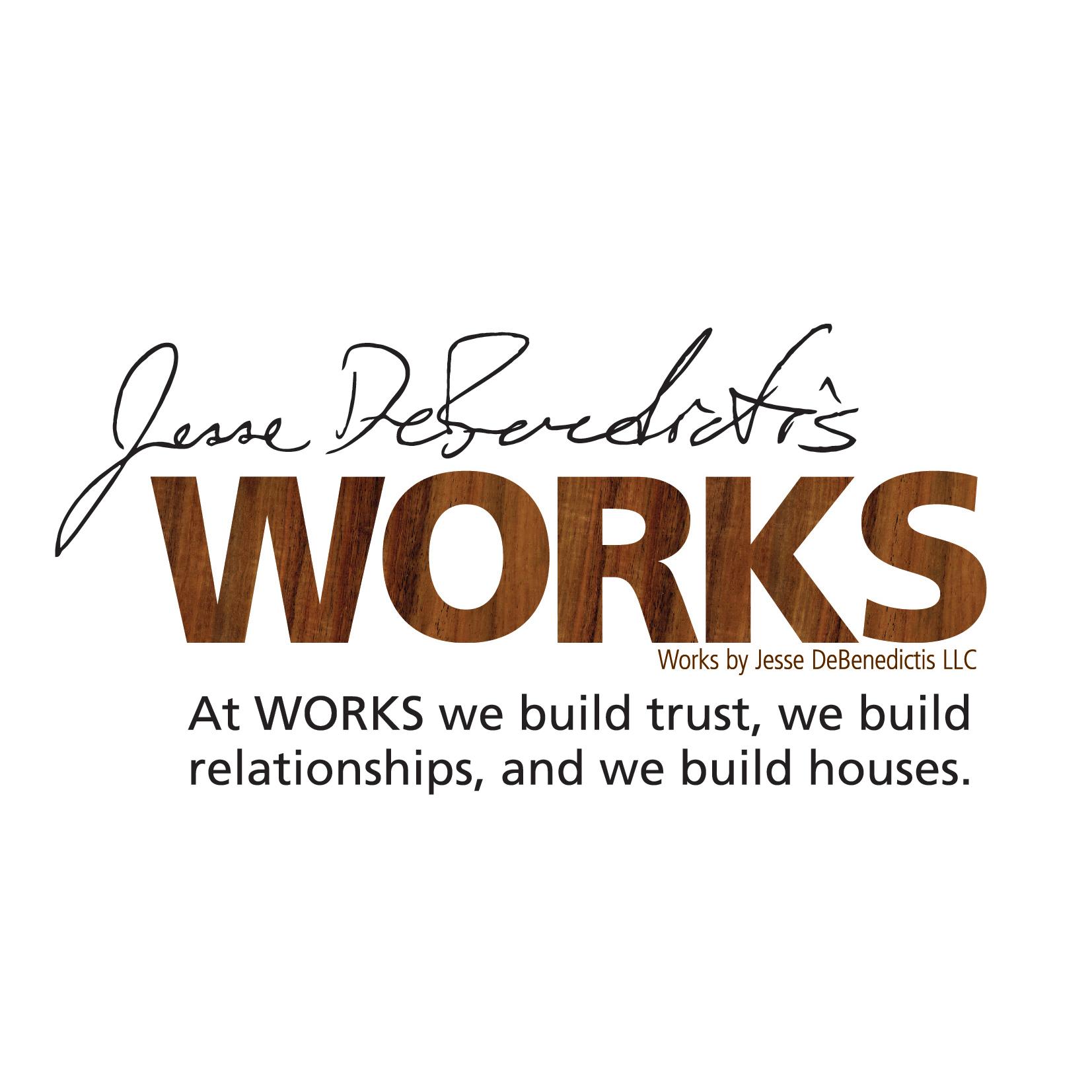 WORKS by Jesse DeBenedictis