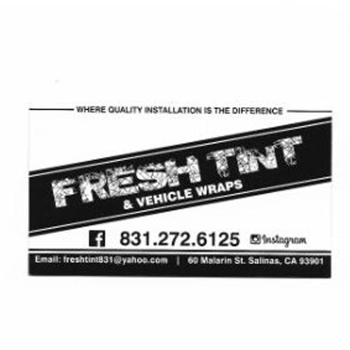 Fresh Tint & Vehicle Wraps
