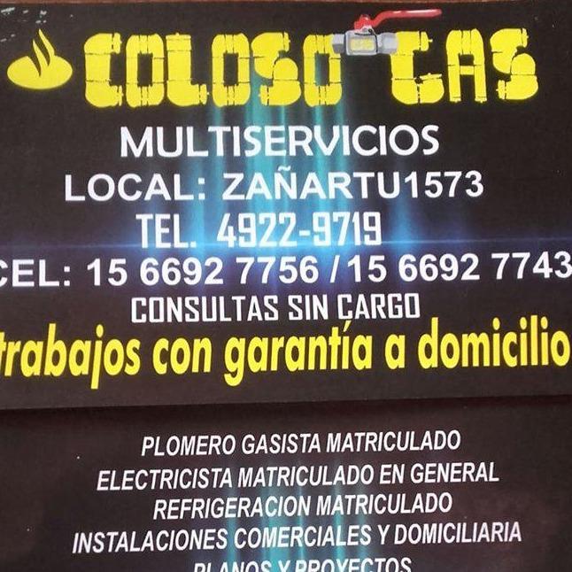 COLOSO GAS