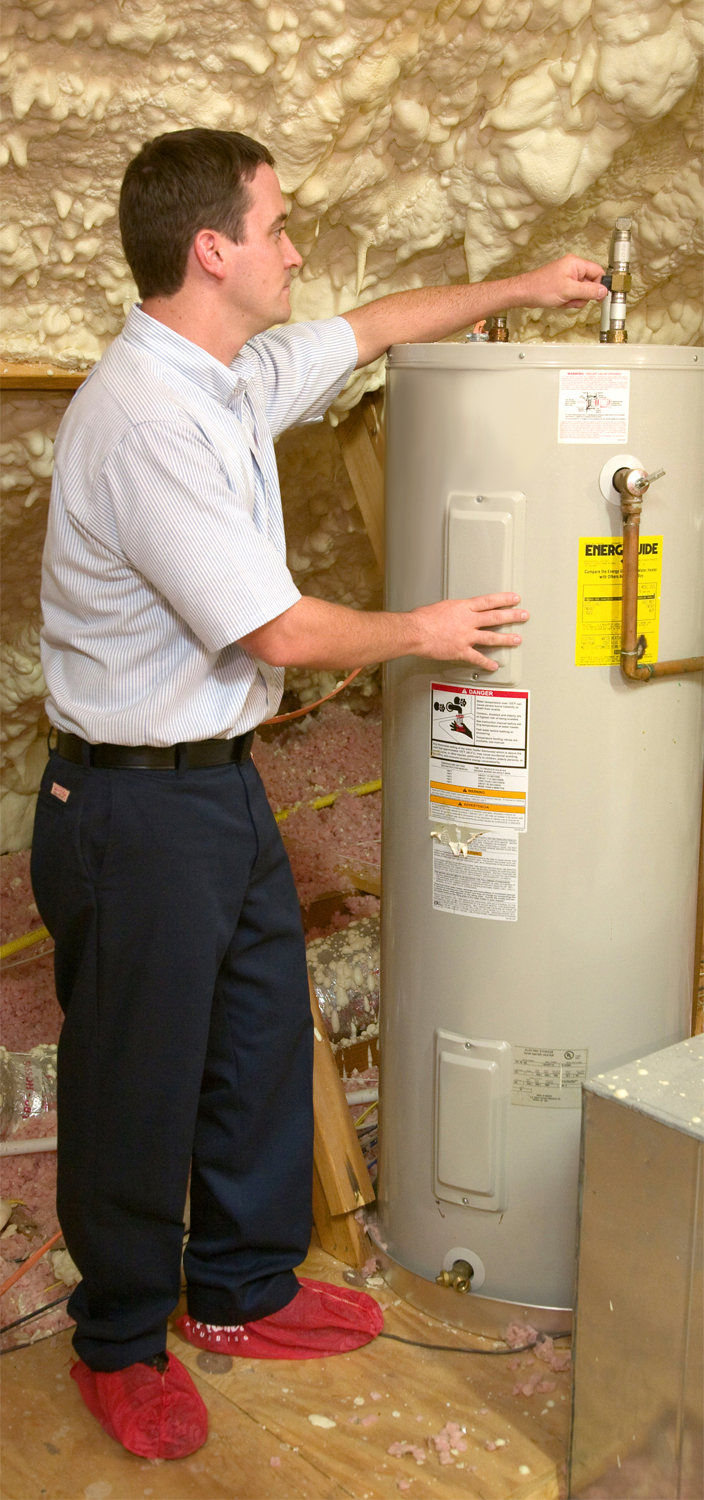 Water heater not working or hot water running out quickly? Give us a call! #CallClintPlumbing