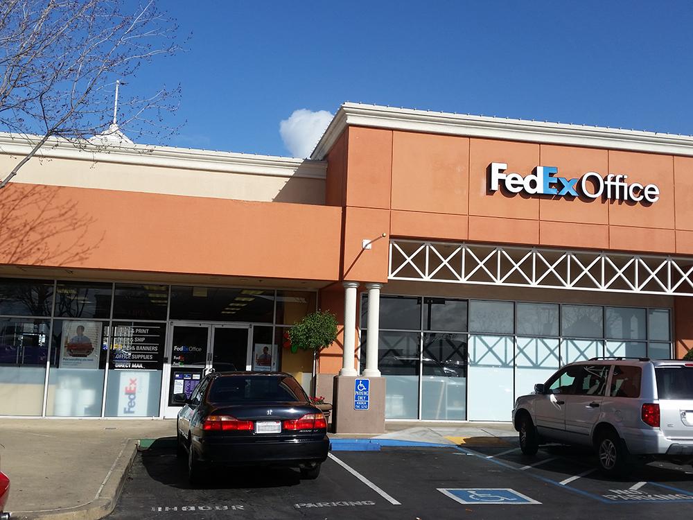 fedex office print ship center at 1201 marina blvd san
