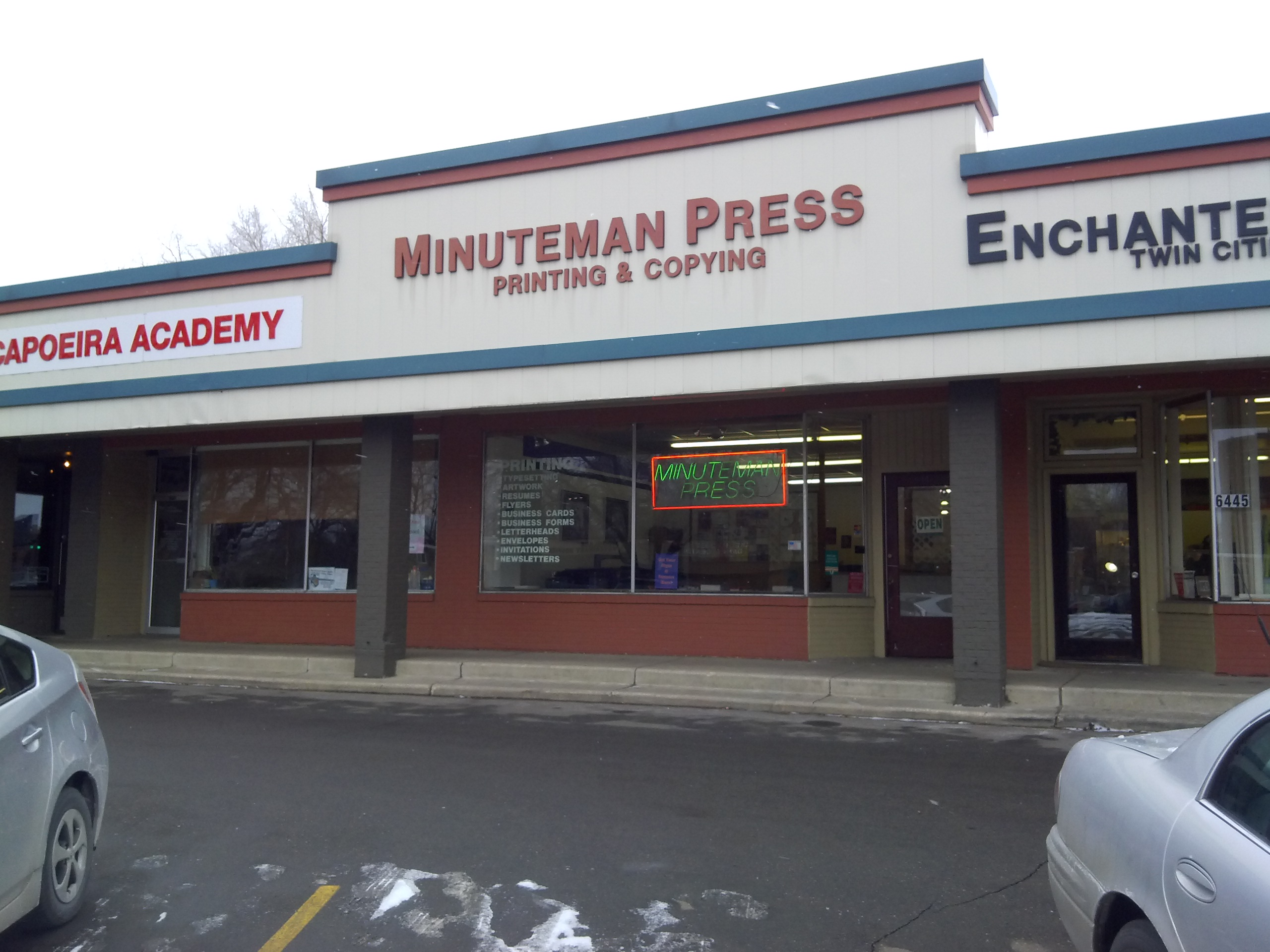 Minuteman Press in Richfield MN 612 861 4