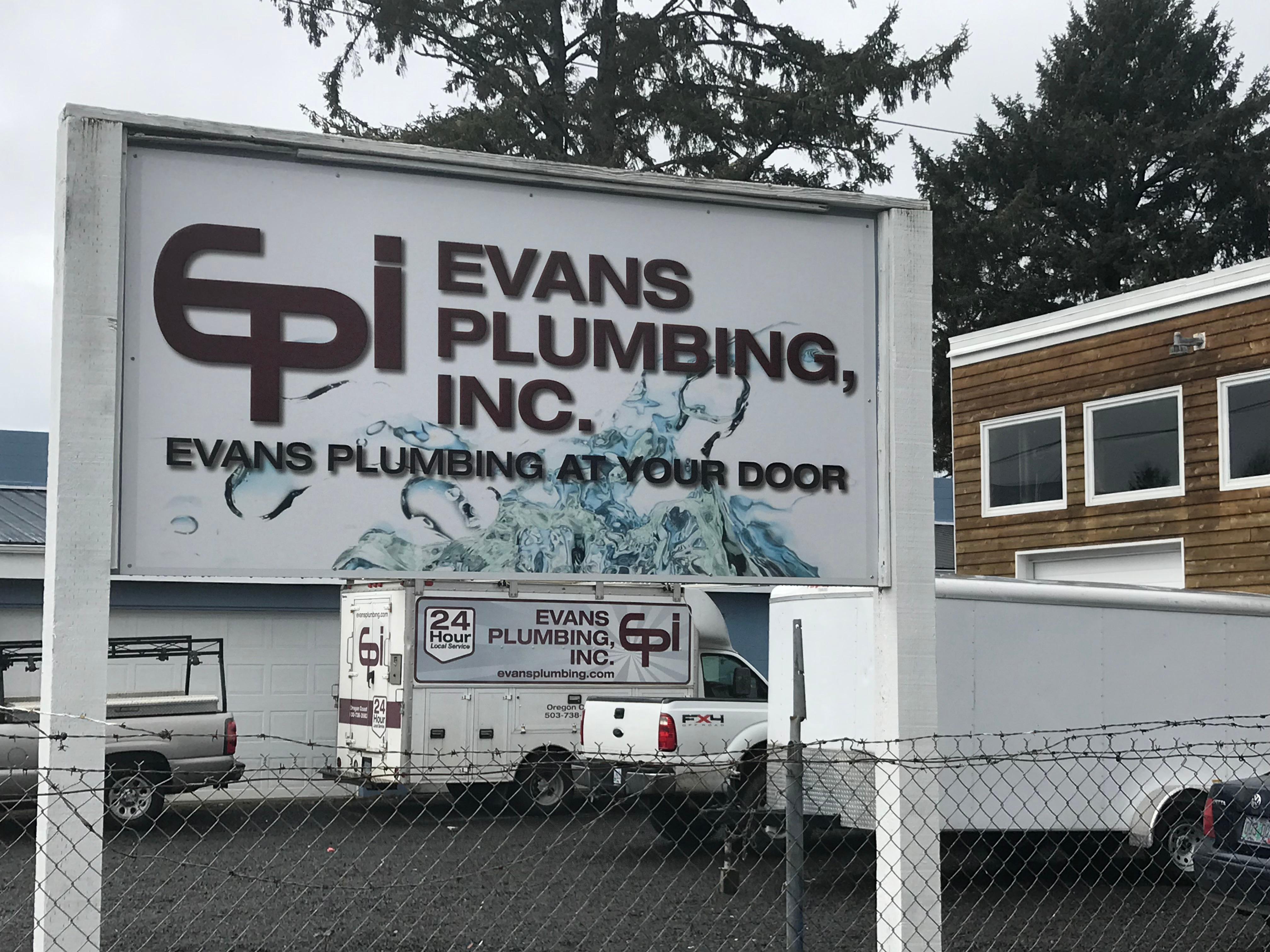 Evans Plumbing Inc image 1