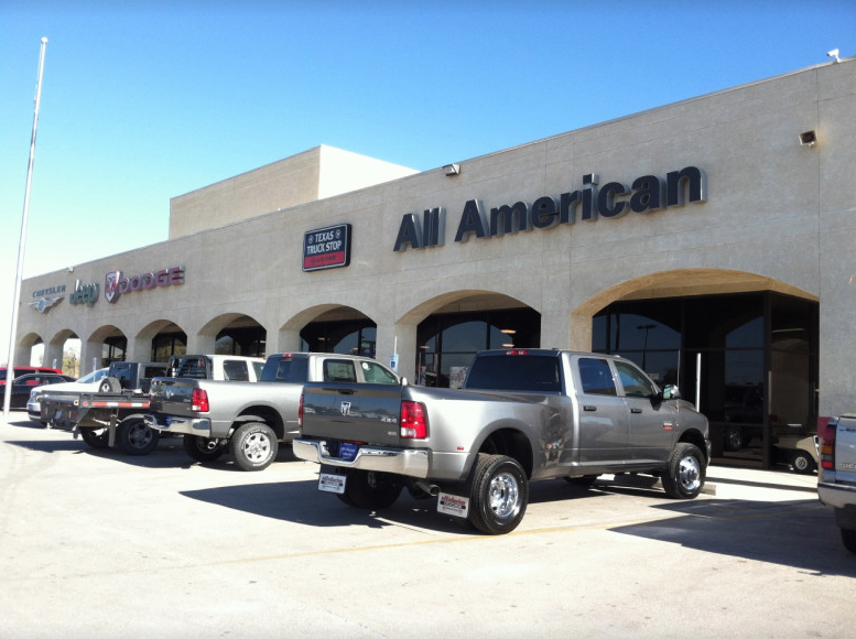 All American Chrysler Jeep Dodge Of Midland Midland Tx