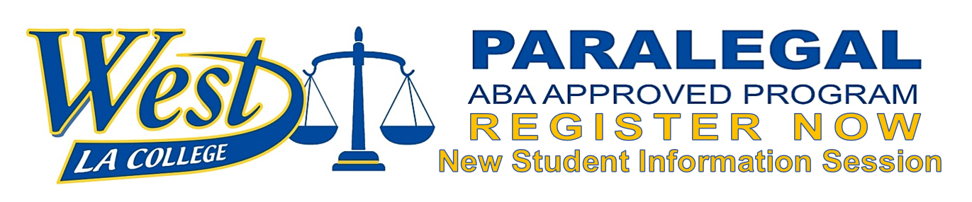ABA APPROVED PARALEGAL PROGRAM @ WEST LOS ANGELES COLLEGE