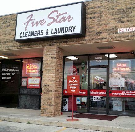 Five Star Cleaners - De Zavala