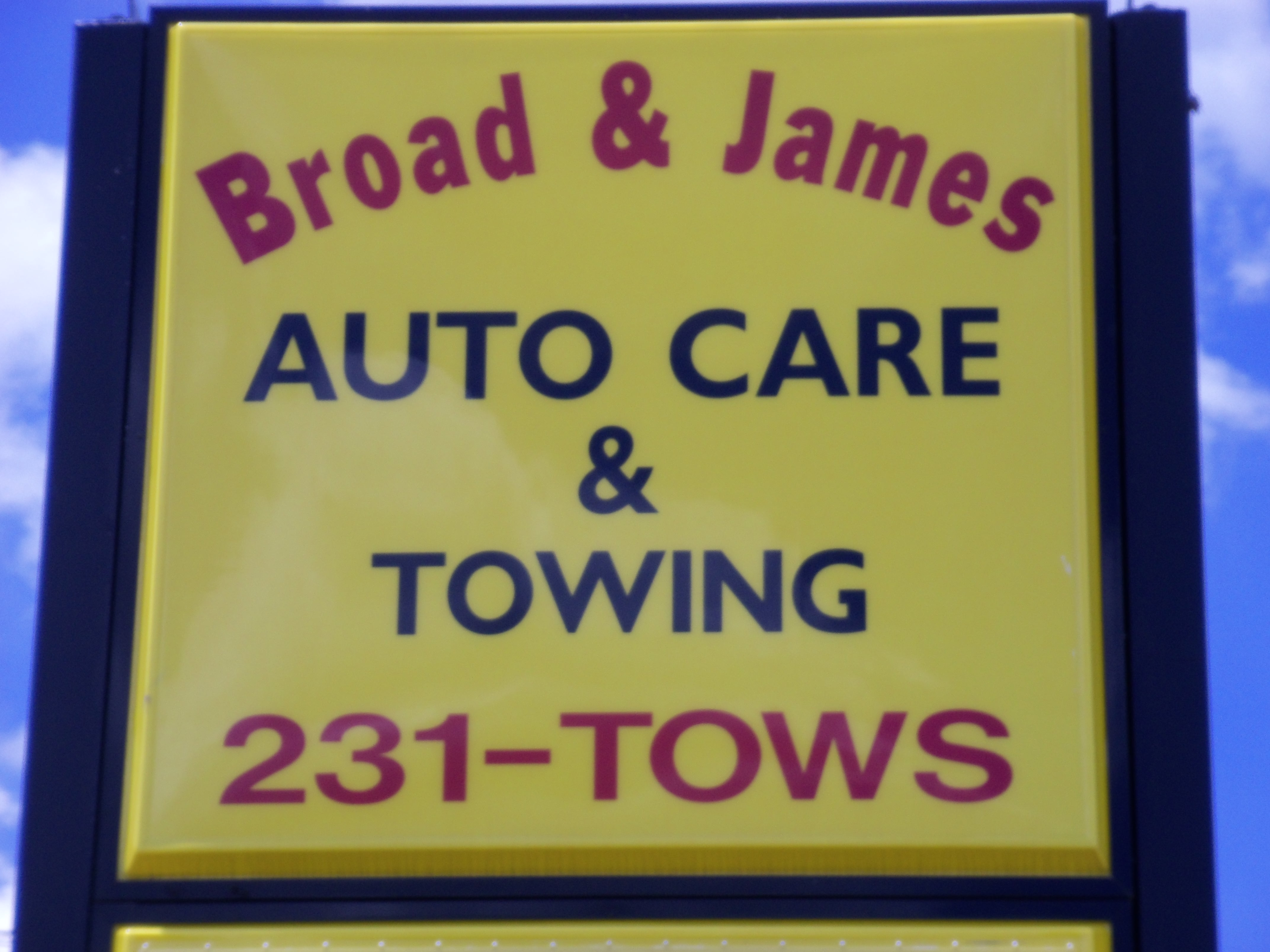 Broad & James Towing