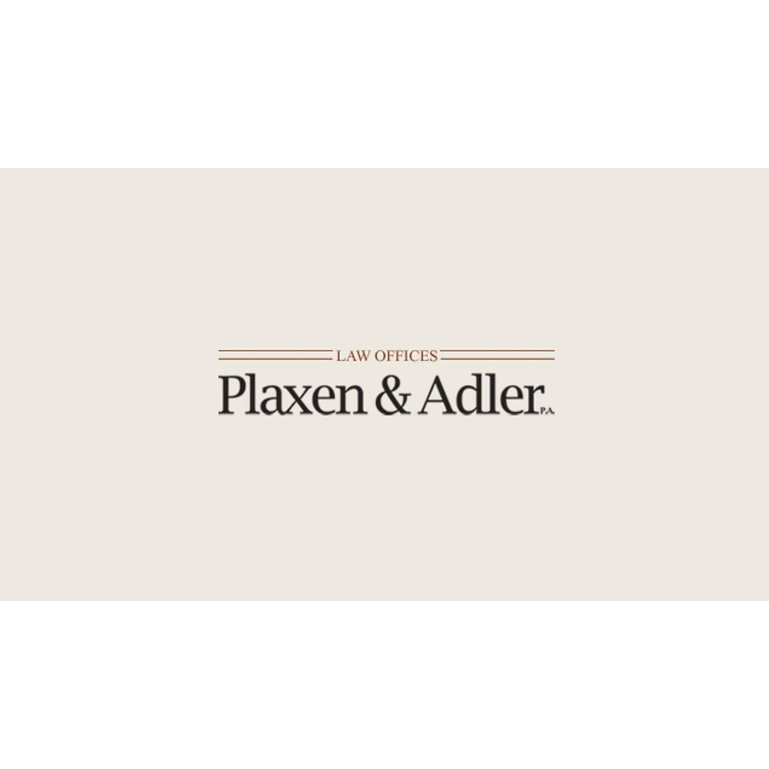 Plaxen & Adler, P.A. - ad image