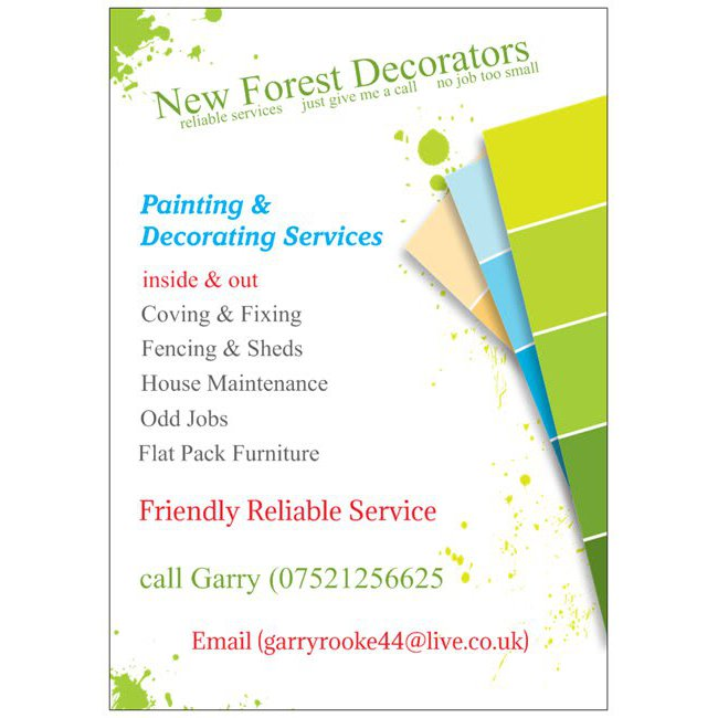 New Forest Decorators
