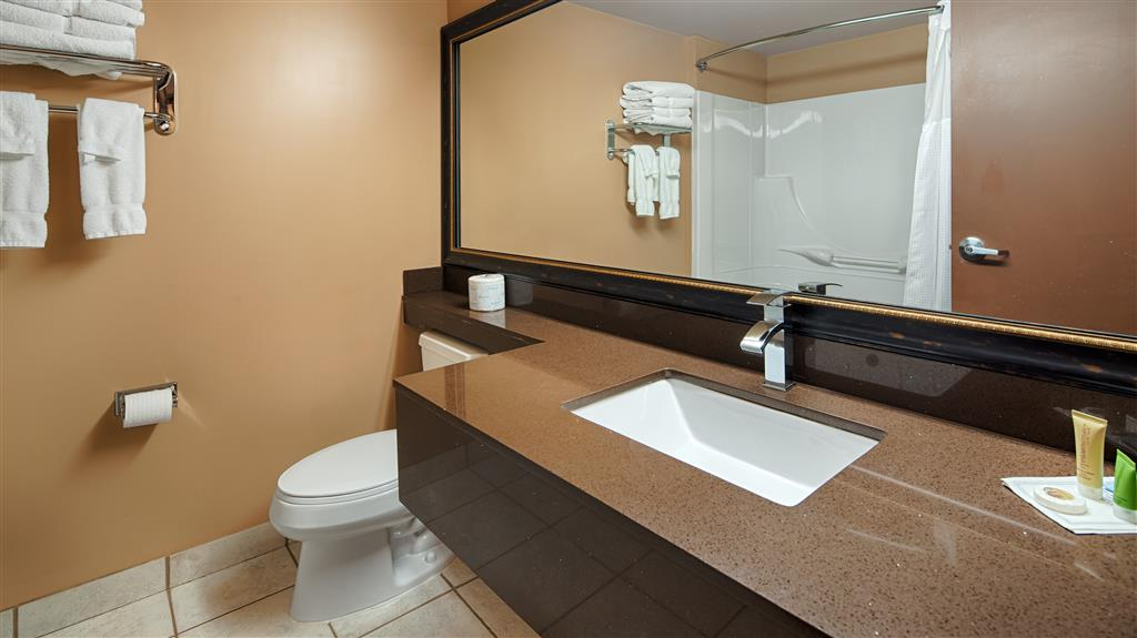 Best Western Marquis Inn & Suites in Prince Albert: Guest Bathroom