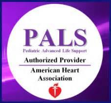 Pediatric Advanced Life Support Course from The American Heart Association.