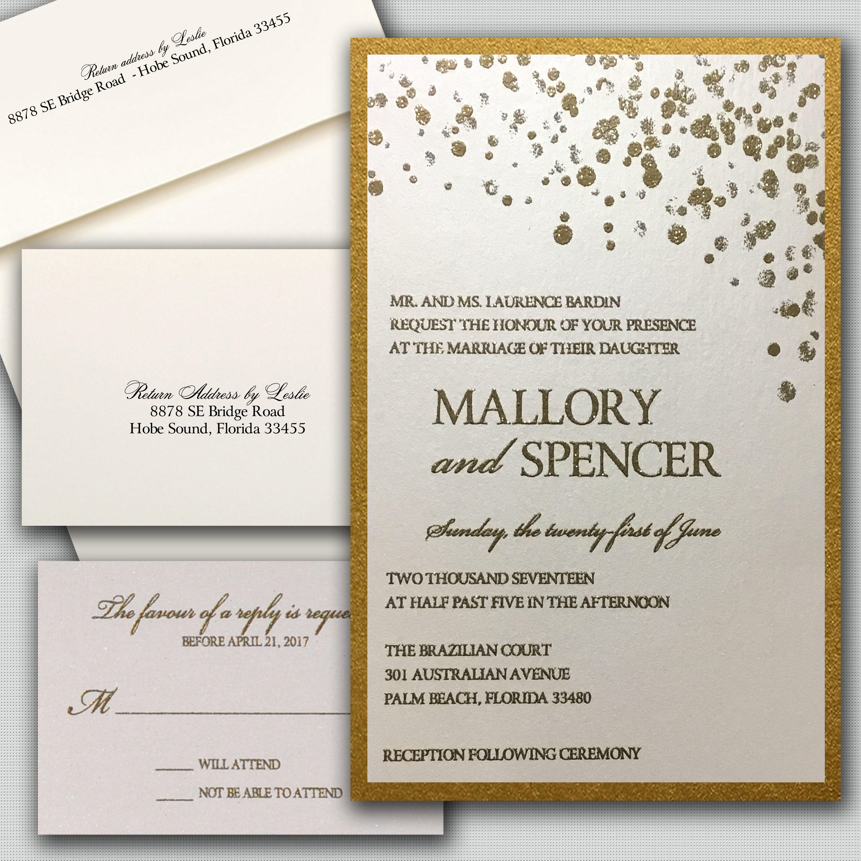 Leslie Store Wedding Invitations & Stationery image 12