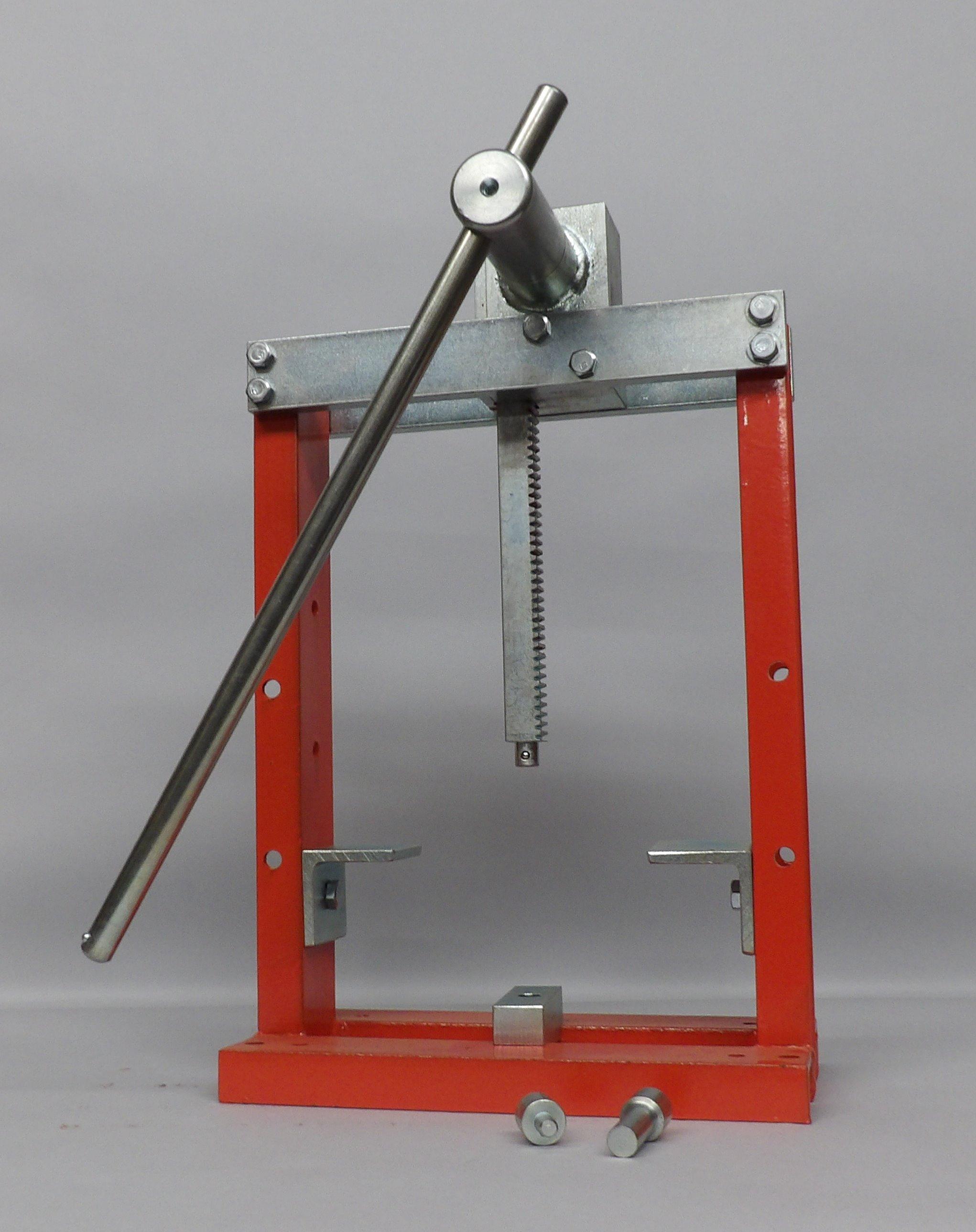 CG100 3-Ton Arbor Press Features a 2
