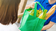 we accept grocery donations at our Baltimore MD location