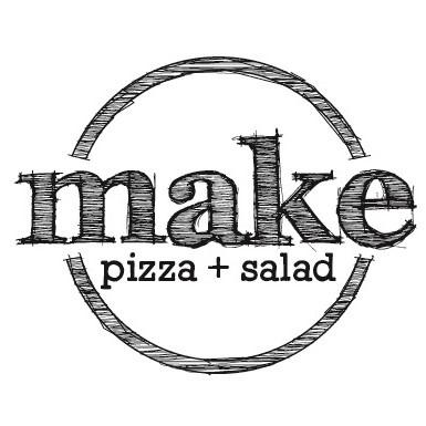 MAKE pizza+salad