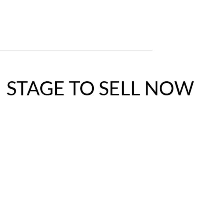 Stage to Sell Now