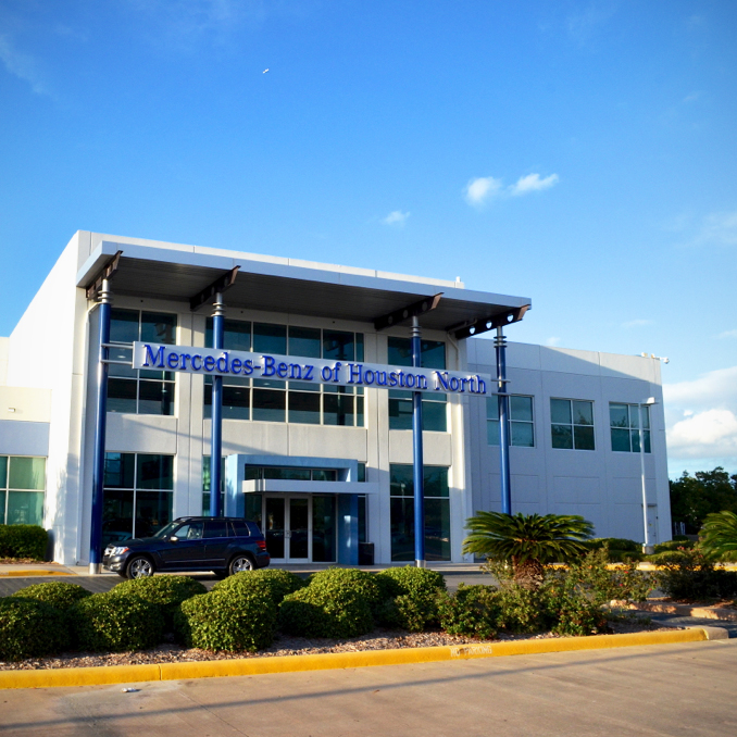 mercedes benz of houston north in houston tx 77090