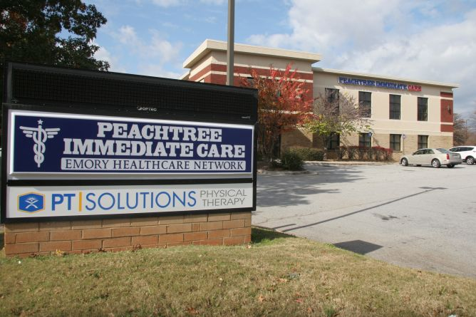 Peachtree Immediate Care Douglasville 9390 The Landing Dr