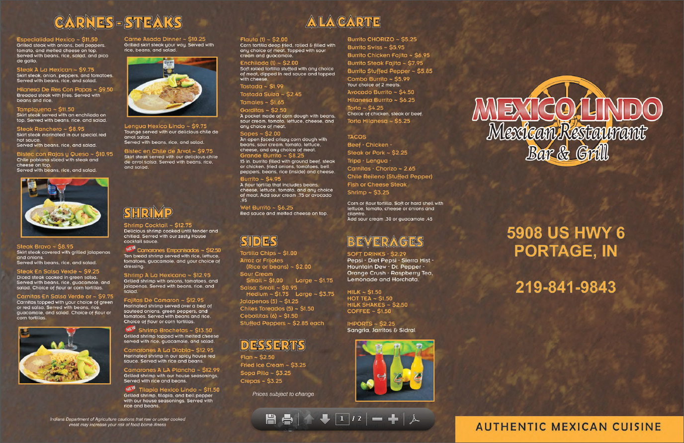 Mexico Lindo Mexican Restaurant Bar and Grill image 7