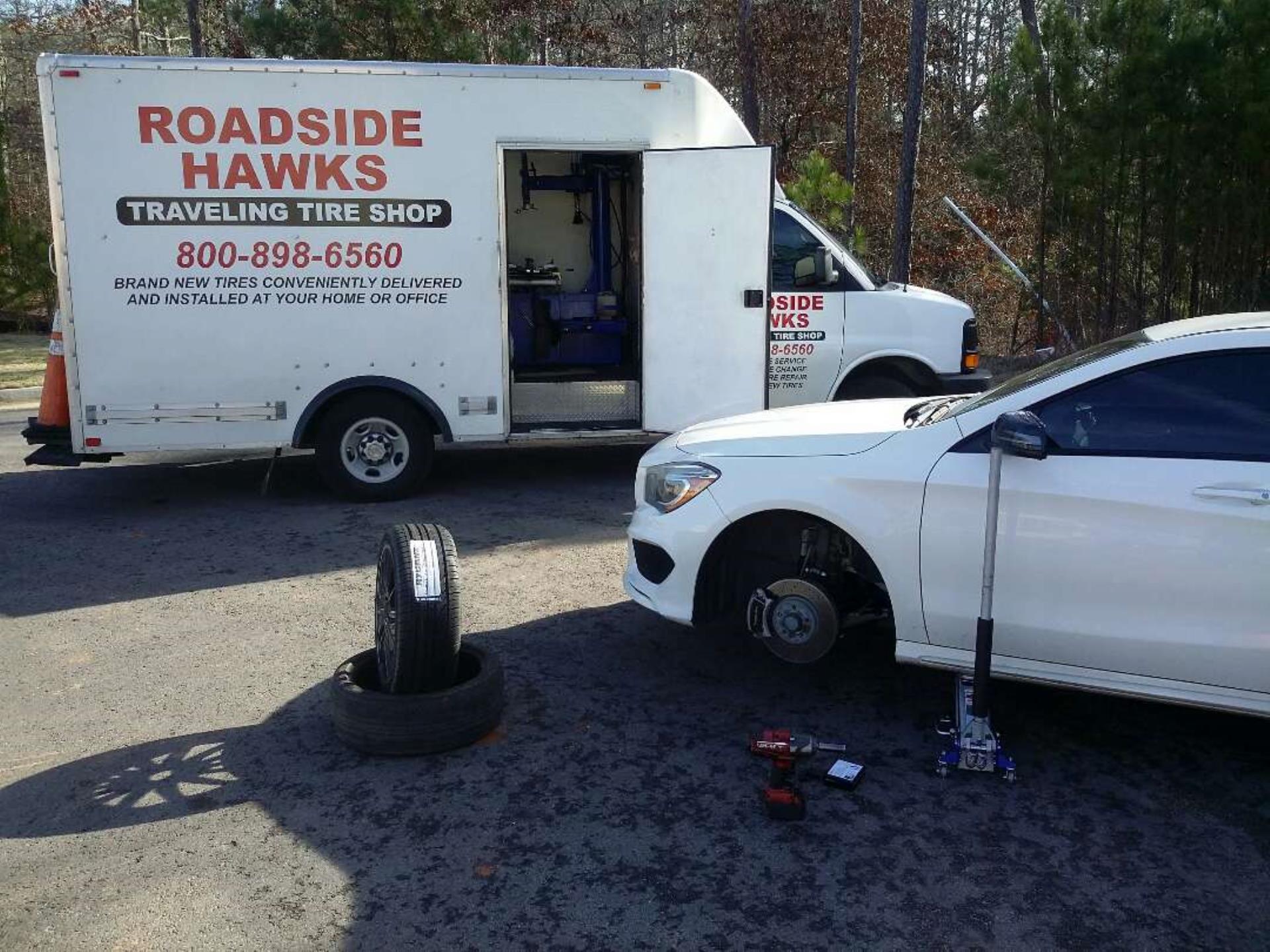 24 HOUR ROADSIDE HAWKS TRAVELING TIRE SHOP ATLANTA GA Business