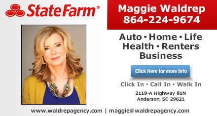 Maggie Waldrep State Farm Insurance Agent Insurance Agency Anderson Sc 29621