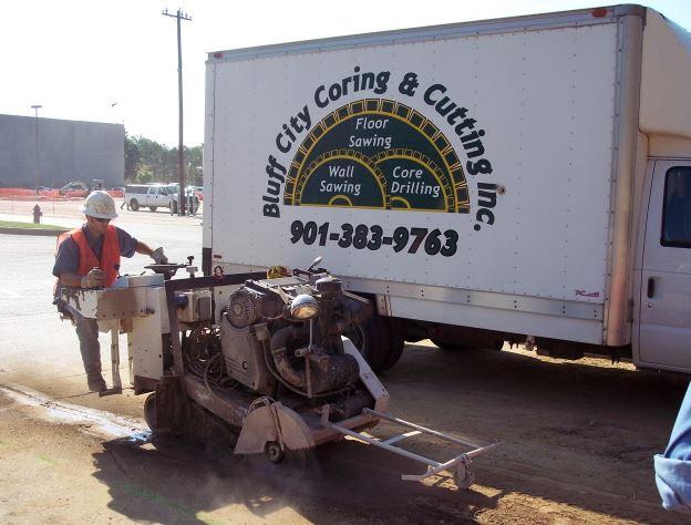 Bluff City Coring And Cutting Inc