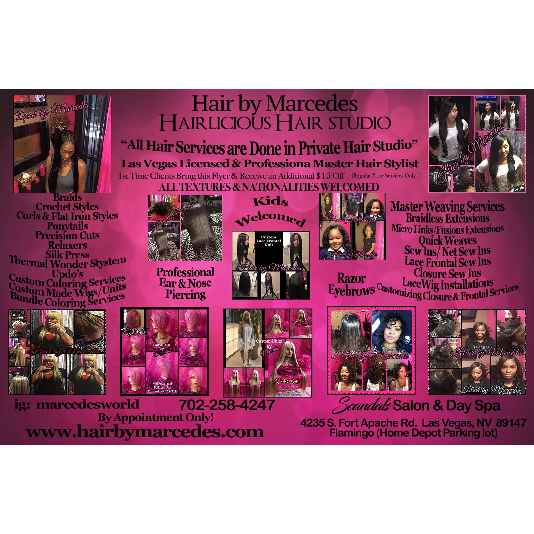 Hair by Marcedes/Hairlicious Hair Closet