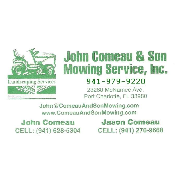 John Comeau & Son Mowing Services